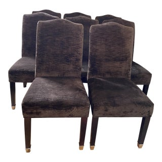 Upholstered Dining Chairs- Set of 8 For Sale
