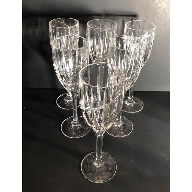 Contemporary Mikasa Uptown Wine Glasses - Set of 6 For Sale - Image 9 of 12