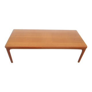 1970s Mid-Century Modern Teak Coffee Table