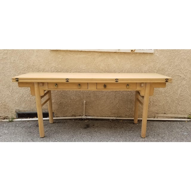 1960s Chinoiserie Century Raymond Sobota Foldable Console/Table For Sale In Los Angeles - Image 6 of 6