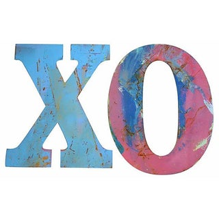 Metal Marquee Letters Xo - 2 Pieces