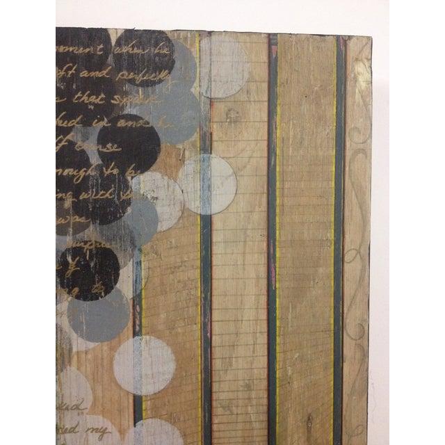 Circles and Stripes Mixed Media Original Art - Image 5 of 10