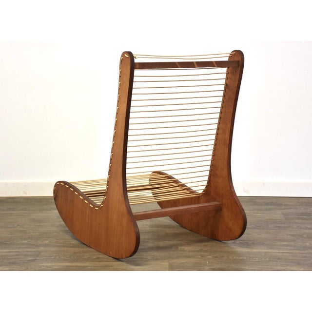 Mid-Century Modern Tubbs Modern Low Lounge Chair Designed by Carl Koch For Sale - Image 3 of 8
