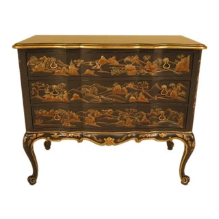 John Widdicomb Chinoiserie Commode
