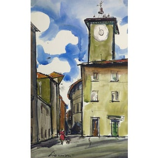 Siemion, French Landscape - Provence Square For Sale