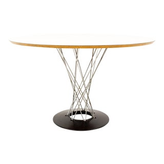 Mid Century Modern Noguchi for Knoll 6 Person Cyclone Table For Sale