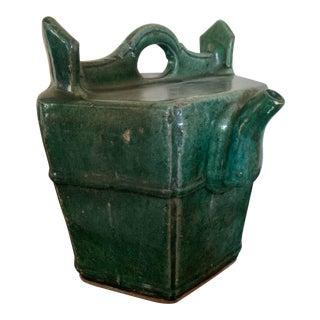 Chinese Shiwan Green Tea Pot For Sale