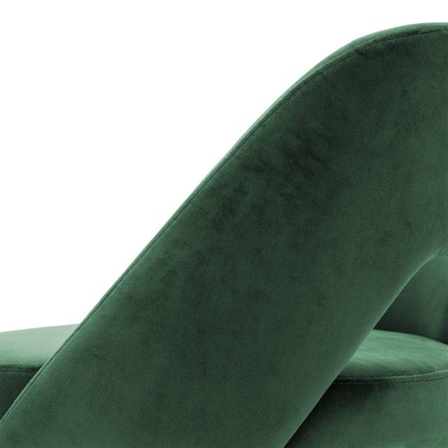Green Velvet Bar Stool | Eichholtz Avorio For Sale In Greensboro - Image 6 of 9