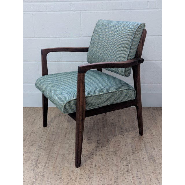 1960s Restored Vintage Armchair For Sale - Image 11 of 11