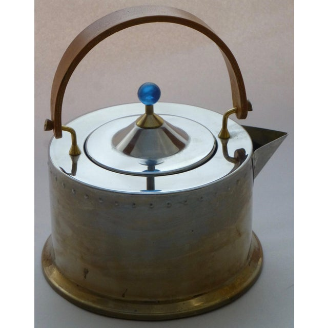 Great vintage Danish designed teapot, by Carsten Jorgensen. This is the Bodum Osiris model. We love the handle, so unique!...