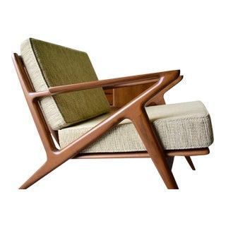 Mid Century Modern Teak Armchair / Lounge Chair For Sale
