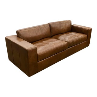 Bolo Leather Sofa by One for Victory For Sale