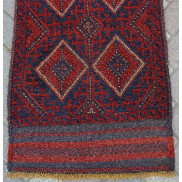 "Vintage Tribal Turkish Kilim Runner - 2' x 8'2"" For Sale - Image 4 of 6"