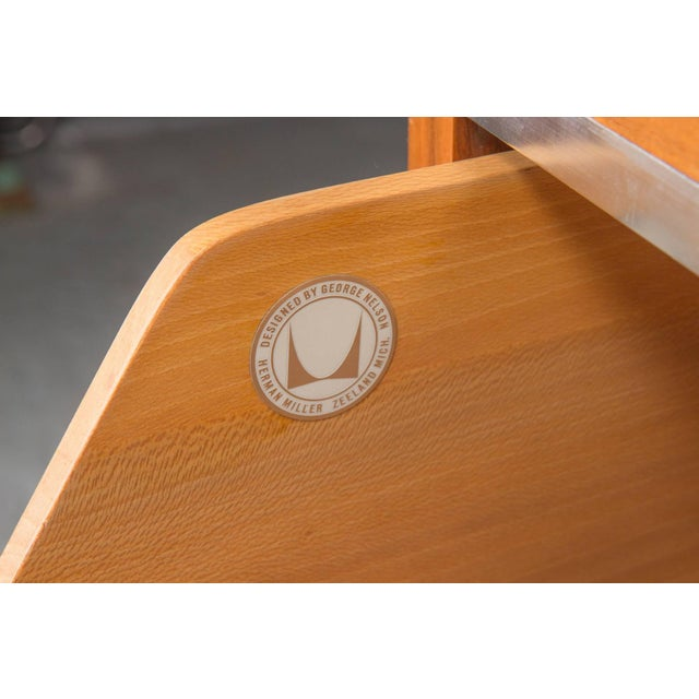 1950s Executive L-Shaped Desk Unit by George Nelson for Herman Miller For Sale - Image 5 of 10
