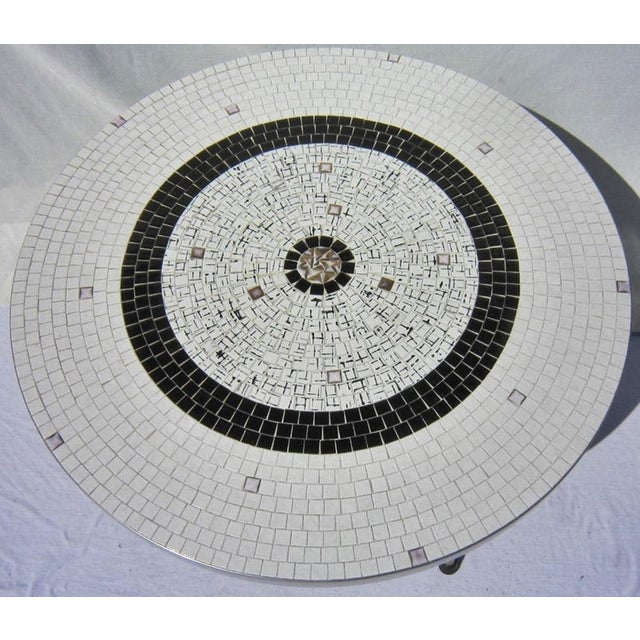 Mid-Century Tile Coffee Table - Image 3 of 6