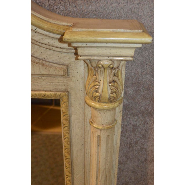 Wood Cellini Furniture Neo-Classic Style Italian Wall Mirror For Sale - Image 7 of 13