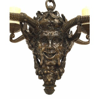 Late 19th Century English Mythological Bronze Chandelier Preview