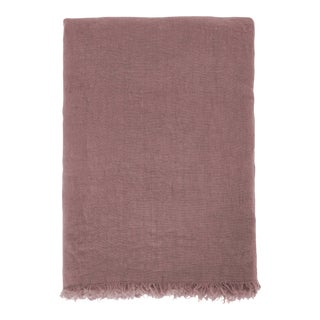 Once Milano Linen Summer Throw Pink For Sale