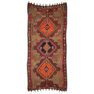 """Antique Turkish Kilim - 11'-2"""" x 5'-7"""" For Sale"""