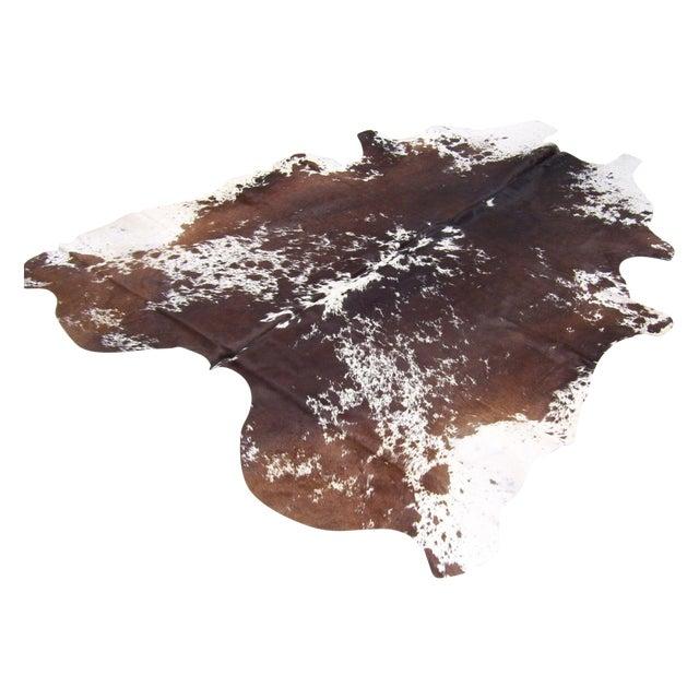 Gambrell Renard Brown & White Cowhide - 6′8″ × 7′2 - Image 1 of 4