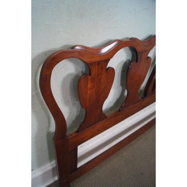 Statton Solid Cherry Queen Size Headboard - Image 5 of 10