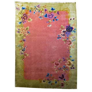 Chinese Art Deco Rug - 8′11″ × 11′6″ For Sale