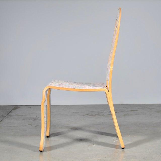 Mid-Century Modern 1980s Vintage Robert Venturi & Denise Scott Brown for Knoll Queen Anne Chair For Sale - Image 3 of 6