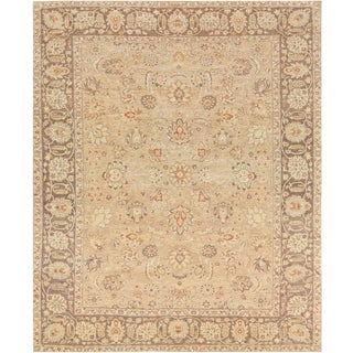 "Persian Mansour Exceptional Handwoven Tabriz Rug - 8'4"" X 10'3"" For Sale"