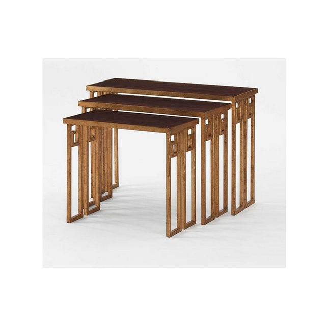 Nesting Tables by Century - Set of Three - Image 2 of 5