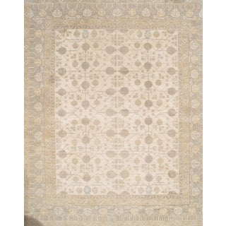 Pasargad N Y Pak Khotan Lamb's Wool Rug - 13′ × 16′1″ For Sale