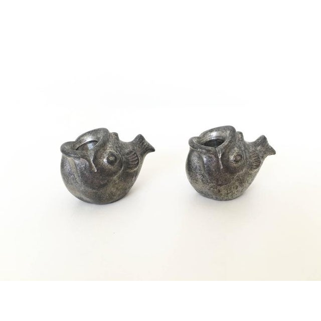 Just Andersen Miniature Fish Candle Holders - A Pair For Sale - Image 7 of 10