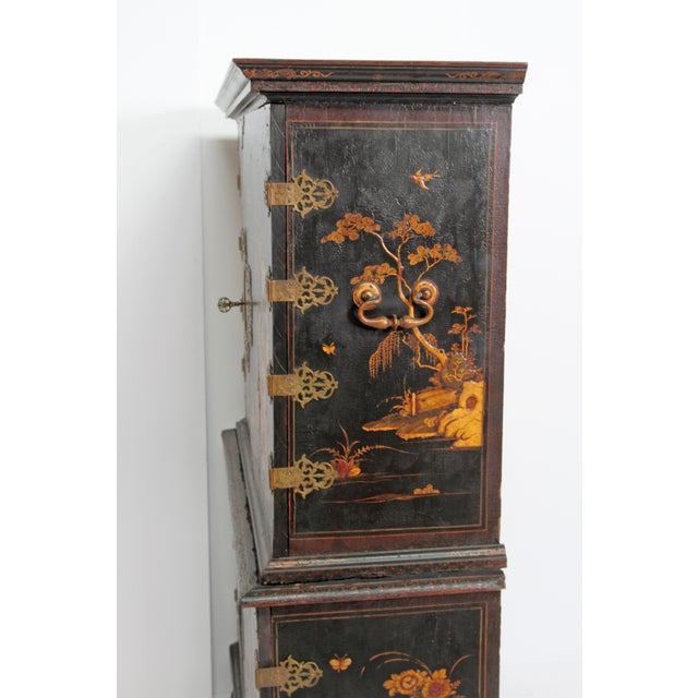 Queen Anne Collectors Cabinet / Japanned For Sale - Image 11 of 13