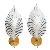 Image of 1960s Vintage Murano Glass Sconces- A Pair For Sale