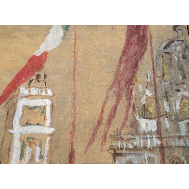 Piazza San Marco by Giorgio Valenzin For Sale In Los Angeles - Image 6 of 8