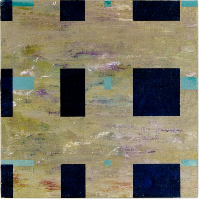 """""""Happy in January"""" Abstract Painting by Brandon Woods For Sale - Image 6 of 6"""