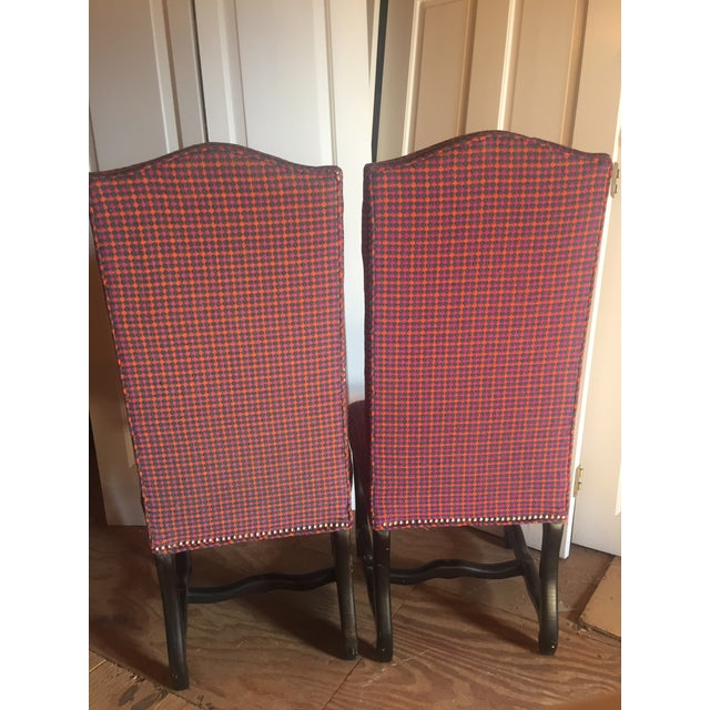 Louis XIII Style Os De Mouton Dining Chairs - a Pair - Image 8 of 11