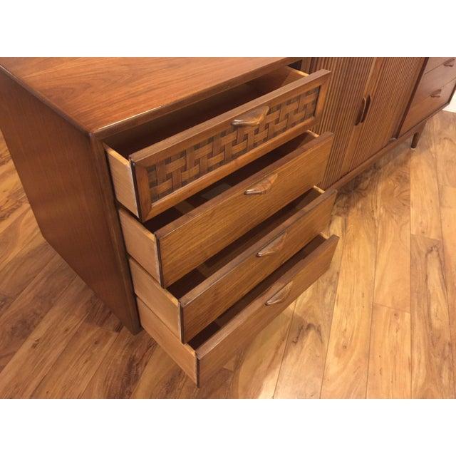 Lane Perception Mid-Century Lowboy Dresser For Sale In Seattle - Image 6 of 10