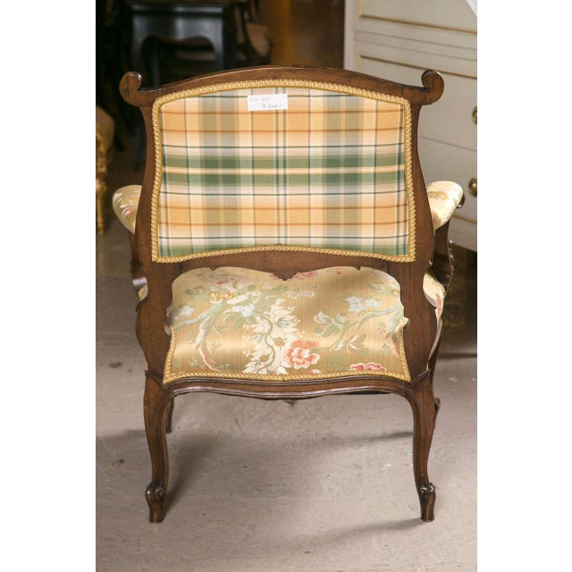 French Rococo Louis XV Style Armchairs - A Pair - Image 9 of 9