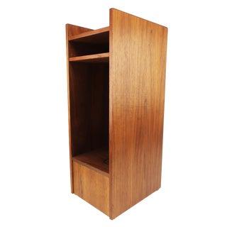Small Danish Modern Teak Shelf For Sale