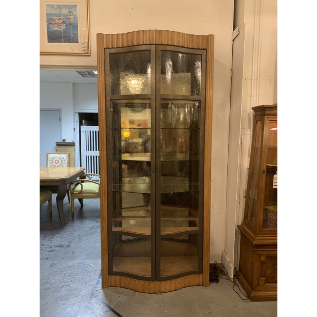 Century Furniture Bunching Display Cabinet For Sale - Image 10 of 10