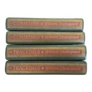 Shakespeare Comedies and Tragedies Books - Set of 4 For Sale