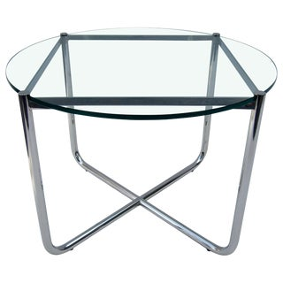 Side Table by Mies Van Der Rohe for Knoll For Sale