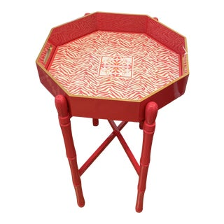 Pink Holly Stuart Tray Table For Sale