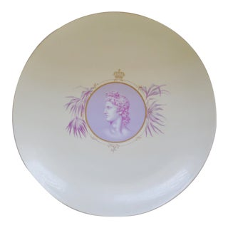 Antique Rosenthal Hugh Rc Monbijou Cameo Germany Decorative Plate / Charger For Sale