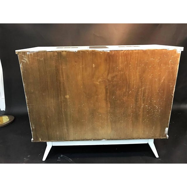 Metal Magnificent Mid Century Italian Building Design Dresser For Sale - Image 7 of 9