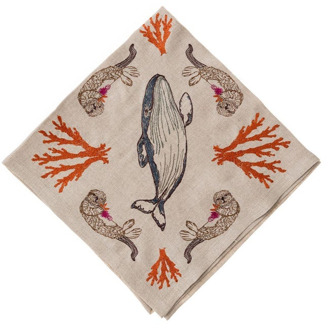 Coral Forest Dinner Napkin - Image 7 of 7