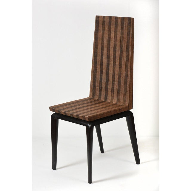 Early Ria & Yiouri Augousti Occasional Chair, 1990s For Sale - Image 10 of 10