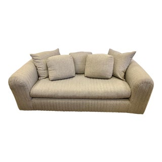 Donghia by John Hutton Gray Sofa For Sale