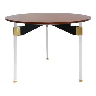 1960s Italian Mid-Century Dining Table For Sale
