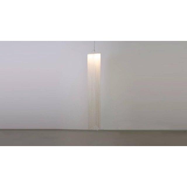 1970s Garbo String Hanging Lamp by Mariyo Yagi and Studio Simon For Sale - Image 5 of 5